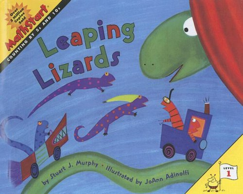 9780606341868: Leaping Lizards (Mathstart Level 1)