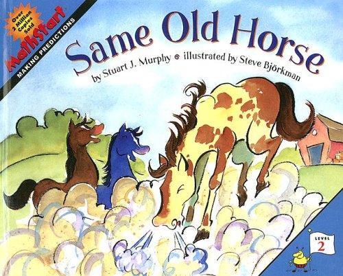 9780606341875: Same Old Horse (Mathstart Level 2)