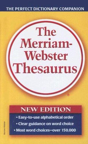 9780606344661: Merriam-webster Thesaurus