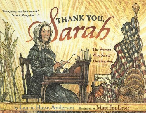 9780606345361: Thank You, Sarah!: The Woman Who Saved Thanksgiving