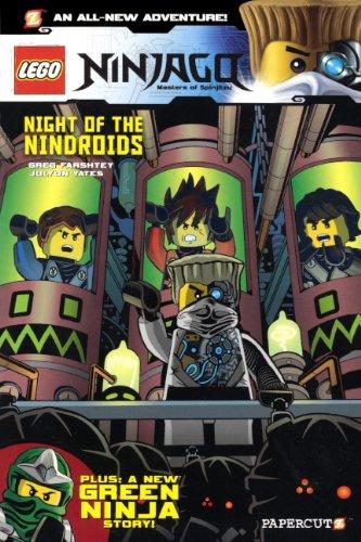 9780606350983: Lego Ninjago: Masters of Spinjitzu 9: Night of the Nindroids