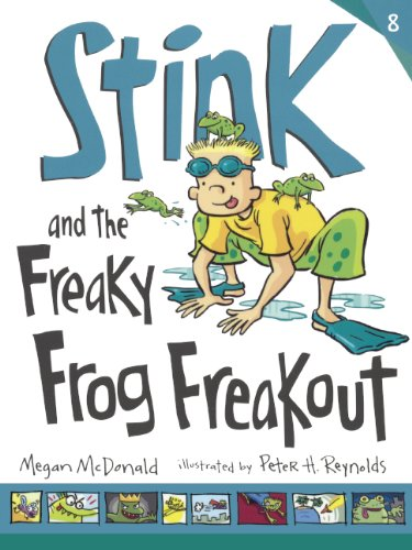 Stink and the Freaky Frog Freakout (Prebound)
