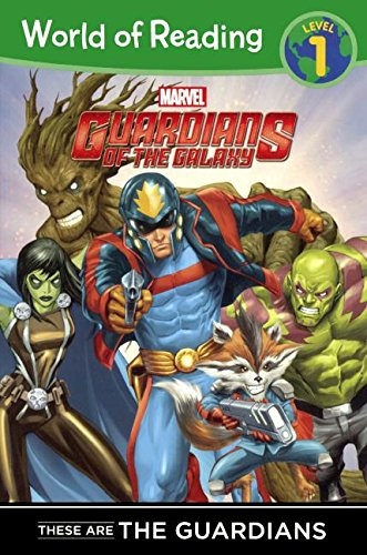 These Are The Guardians Of The Galaxy (Turtleback School & Library Binding Edition) (World of ...