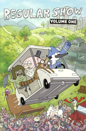 9780606354677: Regular Show Vol. 1 (Turtleback School & Library Binding Edition) (Regular Show Graphic Novels)