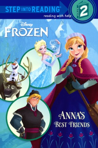 9780606355476: Anna's Best Friends (Step Into Reading, Step 2: Frozen)