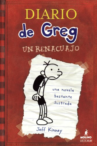 9780606356435: Diaro De Greg, Un Renacuajo (Diary Of A Wimpy Kid) (Turtleback School & Library Binding Edition) (Spanish Edition)