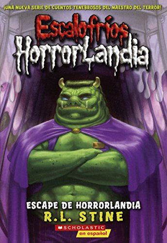 Escape De Horrorlandia (Escape From Horrorland) (Turtleback School & Library Binding Edition) (...
