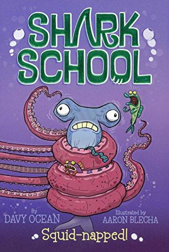 9780606360869: Squid-napped! (Turtleback School & Library Binding Edition) (Shark School)