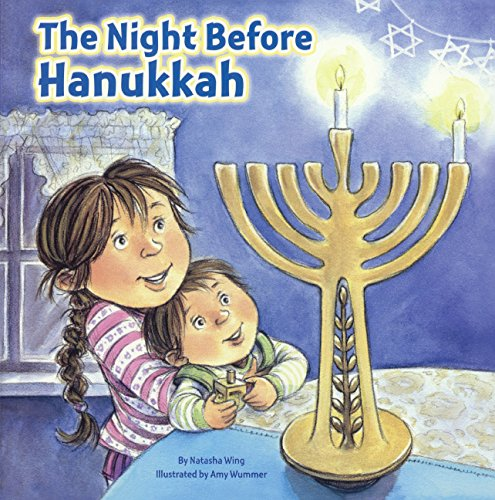 The Night Before Hanukkah (Turtleback School & Library