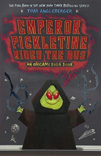 9780606361682: Emperor Pickletine Rides the Bus (Origami Yoda Books)