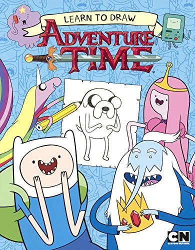 9780606368025: Learn To Draw Adventure Time (Turtleback School & Library Binding Edition)