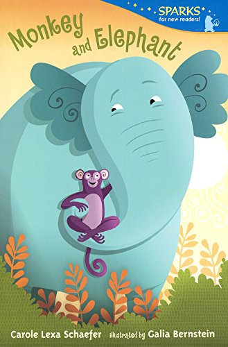 9780606368698: Monkey And Elephant (Turtleback School & Library Binding Edition) (Candlewick Sparks (Quality))