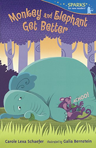 9780606368704: Monkey And Elephant Get Better (Turtleback School & Library Binding Edition) (Candlewick Sparks)