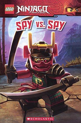 9780606370806: Spy Vs. Spy (Turtleback School & Library Binding Edition) (Lego Ninjago)