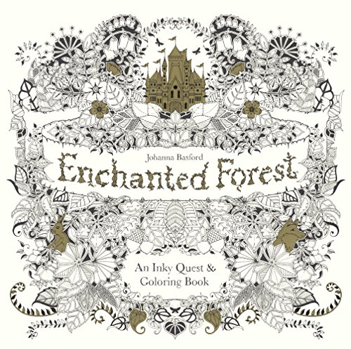 9780606371186 Enchanted Forest An Inky Quest Coloring Book