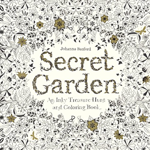 9780606371193: Secret Garden: An Inky Treasure Hunt And Coloring Book (Turtleback School & Library Binding Edition)