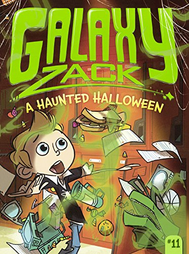 9780606371292: A Haunted Halloween (Turtleback School & Library Binding Edition) (Galaxy Zack)