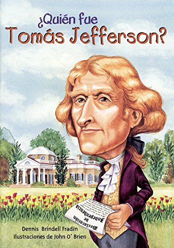 9780606376709: Quien Fue Tomas Jefferson? (Who Was Thomas Jefferson?) (Turtleback School & Library Binding Edition) (Spanish Edition)