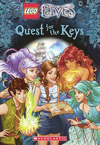9780606377690: Quest For The Keys (Turtleback School & Library Binding Edition) (Lego Elves)