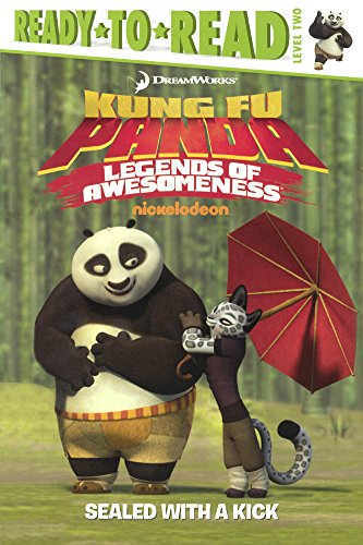 9780606378710: Sealed With A Kick (Turtleback School & Library Binding Edition) (Kung Fu Panda TV)