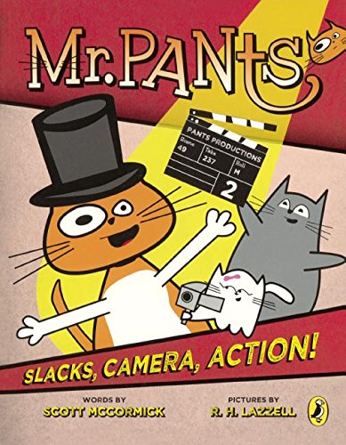 9780606382175: Slacks, Camera, Action! (Turtleback School & Library Binding Edition) (Mr. Pants)