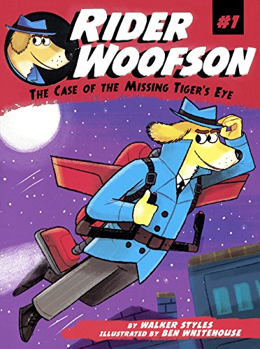 9780606382625: The Case Of The Missing Tiger's Eye (Turtleback School & Library Binding Edition) (Rider Woofson)