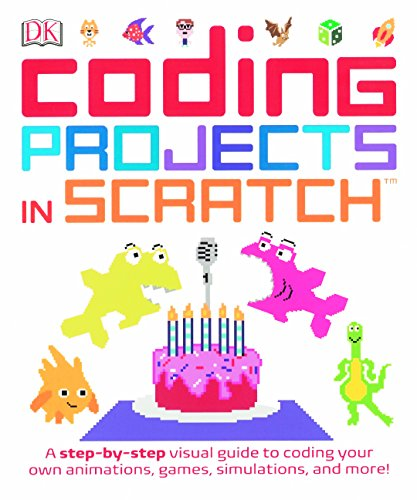 9780606387149: Computer Coding Projects In Scratch: A Step-By-Step Visual Guide (Turtleback School & Library Binding Edition)