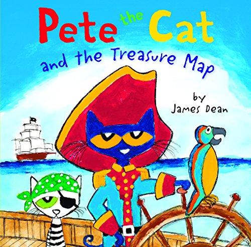 Pete The Cat And The Treasure Map (Turtleback School