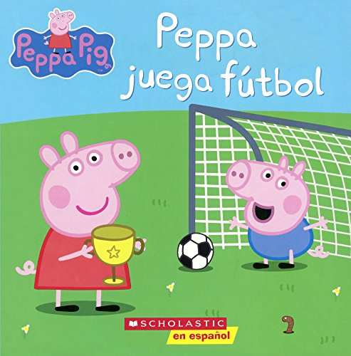 9780606396981: Peppa Juega Futbol (Peppa Pig) (Spanish Edition) (Turtleback School & Library Binding Edition)