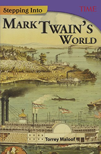 Stepping Into Mark Twain's World (Turtleback School & Library Binding Edition) (Time for ...