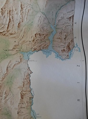 9780607900576: State of Nevada: Base map, shaded relief