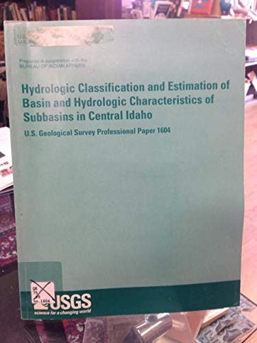Hydrologic Classification and Estimation of Basin and: Stephen William Lipscomb