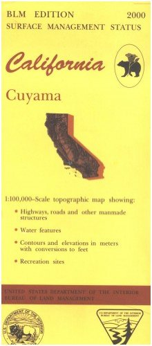 9780607969191: California: Cuyama : 1:100,000 scale topographic map : 30 X 60 minute series (topographic) (Surface management status)