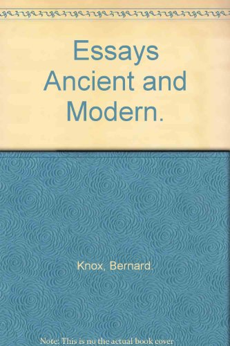 9780608062846: Essays Ancient and Modern