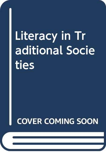 9780608120782: Literacy in Traditional Societies