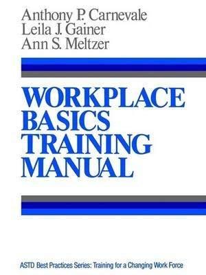 9780608262215: Workplace Basics Training Manual (Jossey Bass Management Series)