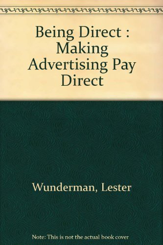 9780609000106: Being Direct