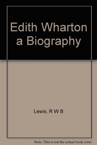 9780609055496: Edith Wharton a Biography