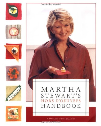 9780609603109: Martha Stewart's Hors d'Oeuvres Handbook