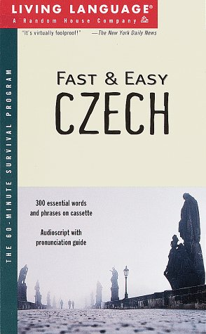 9780609603499: Fast and Easy Czech (Living Language)