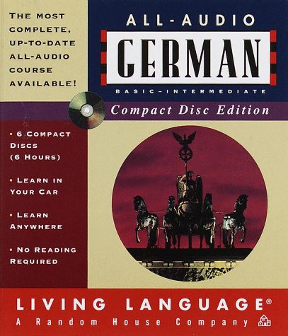 9780609603970: German All Audio Cource (Living Language Series)