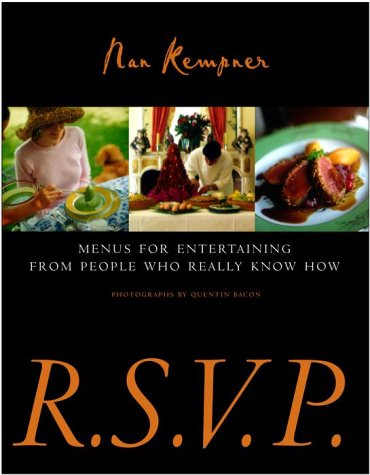 R.S.V.P.: Menus for Entertaining from People Who Really Know How: Kempner, Nan