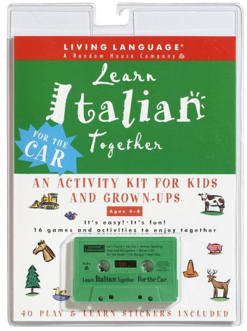 9780609606537: Learn Italian Together: An Activity Kit for Kids and Grown-Ups (Living Language Plus)