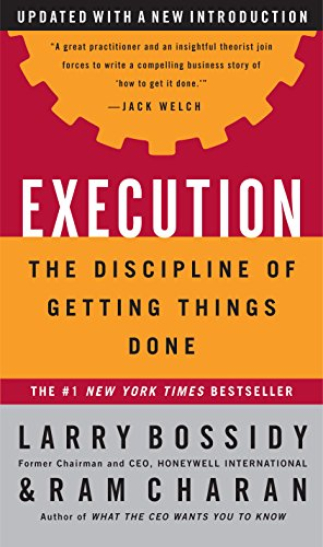 9780609610572: Execution: The Discipline of Getting Things Done
