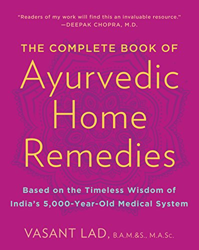 9780609802861: Complete Book of Ayurvedic Home Remedies