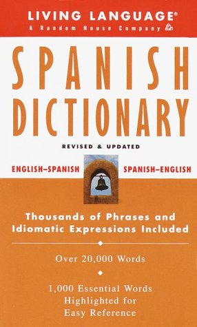 9780609802892: Spanish: Dictionary (Living Language Complete Basic)