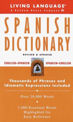 Living Language Diccionario de Español: N/A