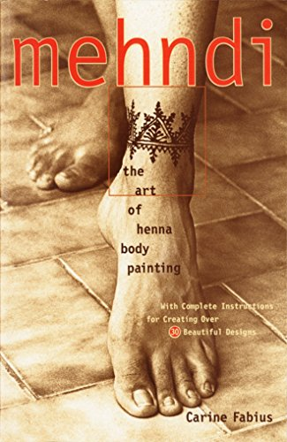 9780609803196: Mehndi: The Art of Henna Body Painting