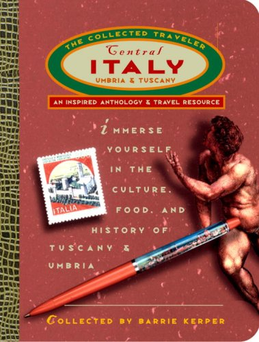 9780609804438: Central Italy: The Collected Traveller (The collected traveler)