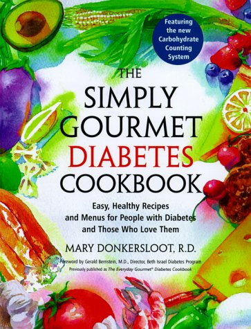 9780609805145: Simply Gourmet Diabetes Cookbook